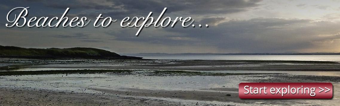 Beach in Fife